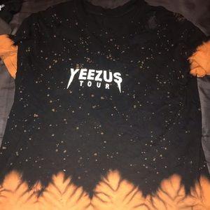 Yeezus bleached shirt!